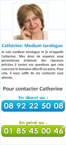 Catherine: Medium tarologue