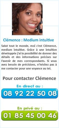 Clémence : Medium intuitive