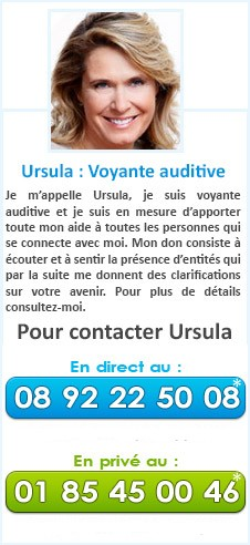 Ursula : Voyante auditive